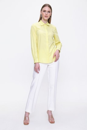Aker Kadın Sarı Bluz Out26570000