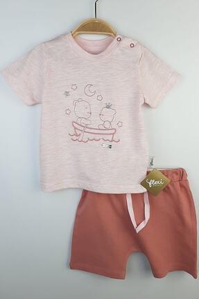 Flexi Kız Bebek Kısa Kolu Takım