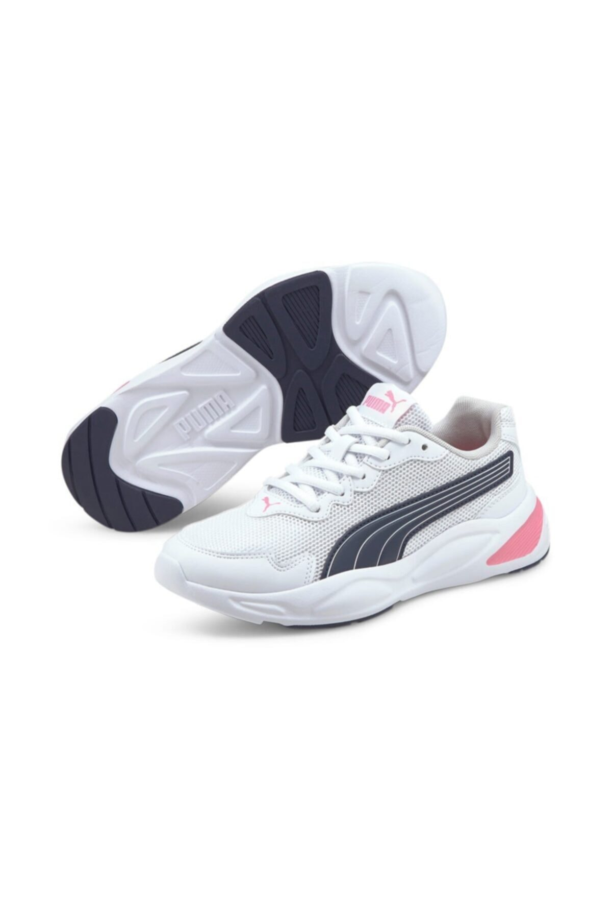 Puma 90S RUNNER NU WAVE JR Beyaz Erkek Çocuk Koşu Ayakkabısı 101085502 1