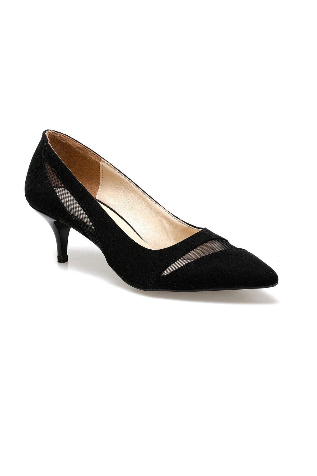 Miss F DS20042 Siyah Kadın Gova Ayakkabı 100517589 1