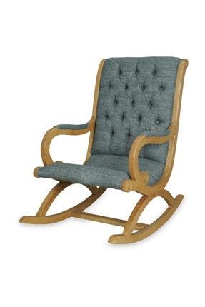Asedia Rustik Naturel-gri Sallanan Sandalye