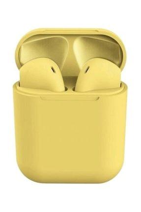 Anka 2. Nesil Tws Garantili Iphone Android Uyumlu Bluetooth Kulaklık - Sarı 6438158760033