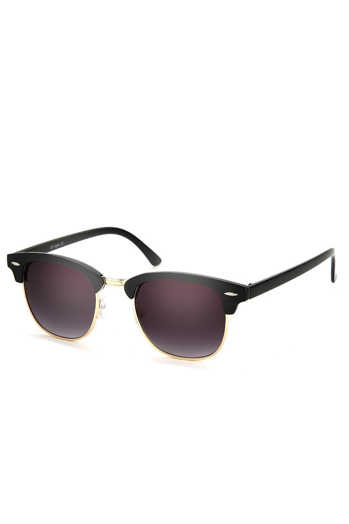 Di Caprio Kadın Siyah Oval Güneş Gözlüğü Dh1543a 1