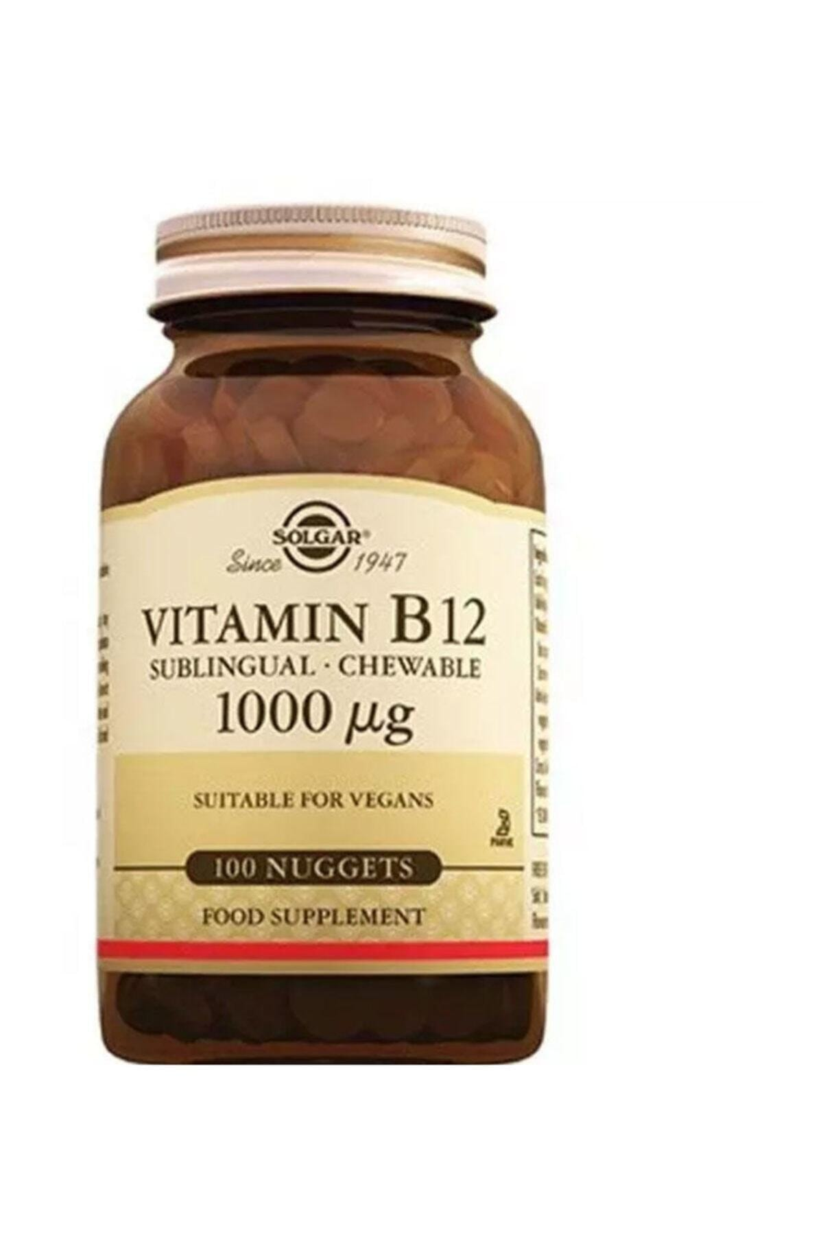 Solgar Vitamin B12 1000 Mcg - 100 Tablet 1