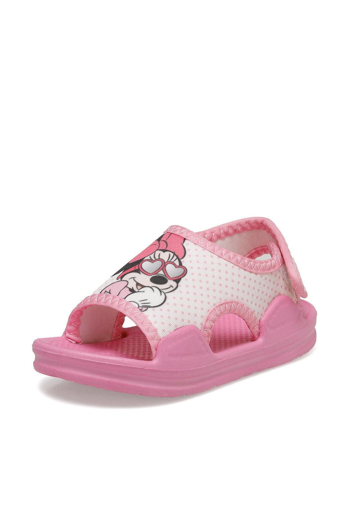 Mickey Mouse 91.tely-2.b Pembe Kız Çocuk Sandalet 1