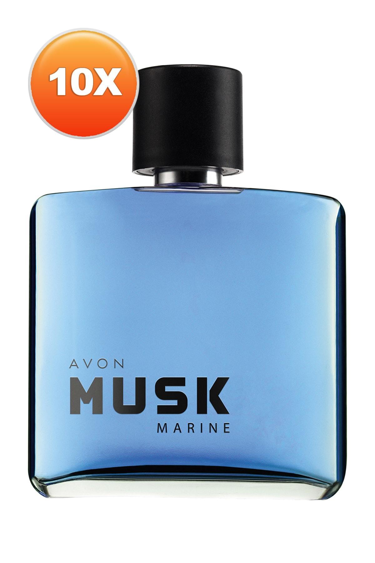AVON Musk Marine Erkek Parfüm Edt 75 ml 10'lu Set 5050000104883 1