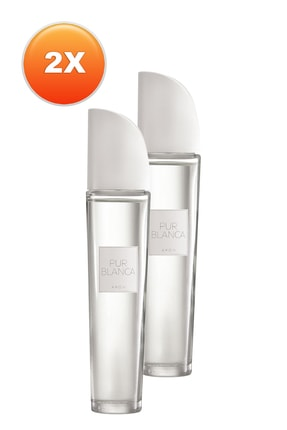 AVON Pur Blanca Kadın Parfüm Edt 50 ml 2'li Set 5050000101813