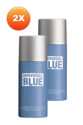 AVON Individual Blue Erkek Deodorant 2'li Set 5050000101219