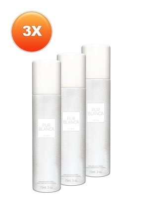 AVON Pur Blanca Kadın Deodorant 3'lü Set 5050000100823