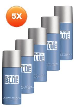 AVON Individual Blue Erkek Deodorant 5'li Set 5050000101233