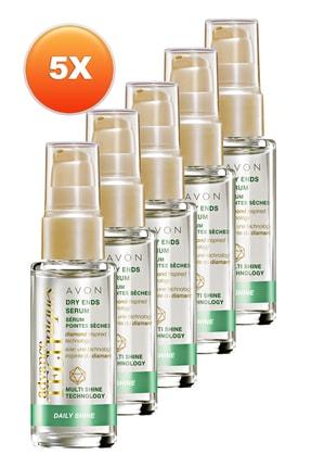 AVON Kuru Saç Ucu Onarıcı Serum 30 ml 5'li Set 5050000108393