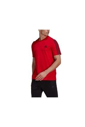 adidas M Dk T Erkek Antrenman Tişörtü Gk9526 Kırmızı