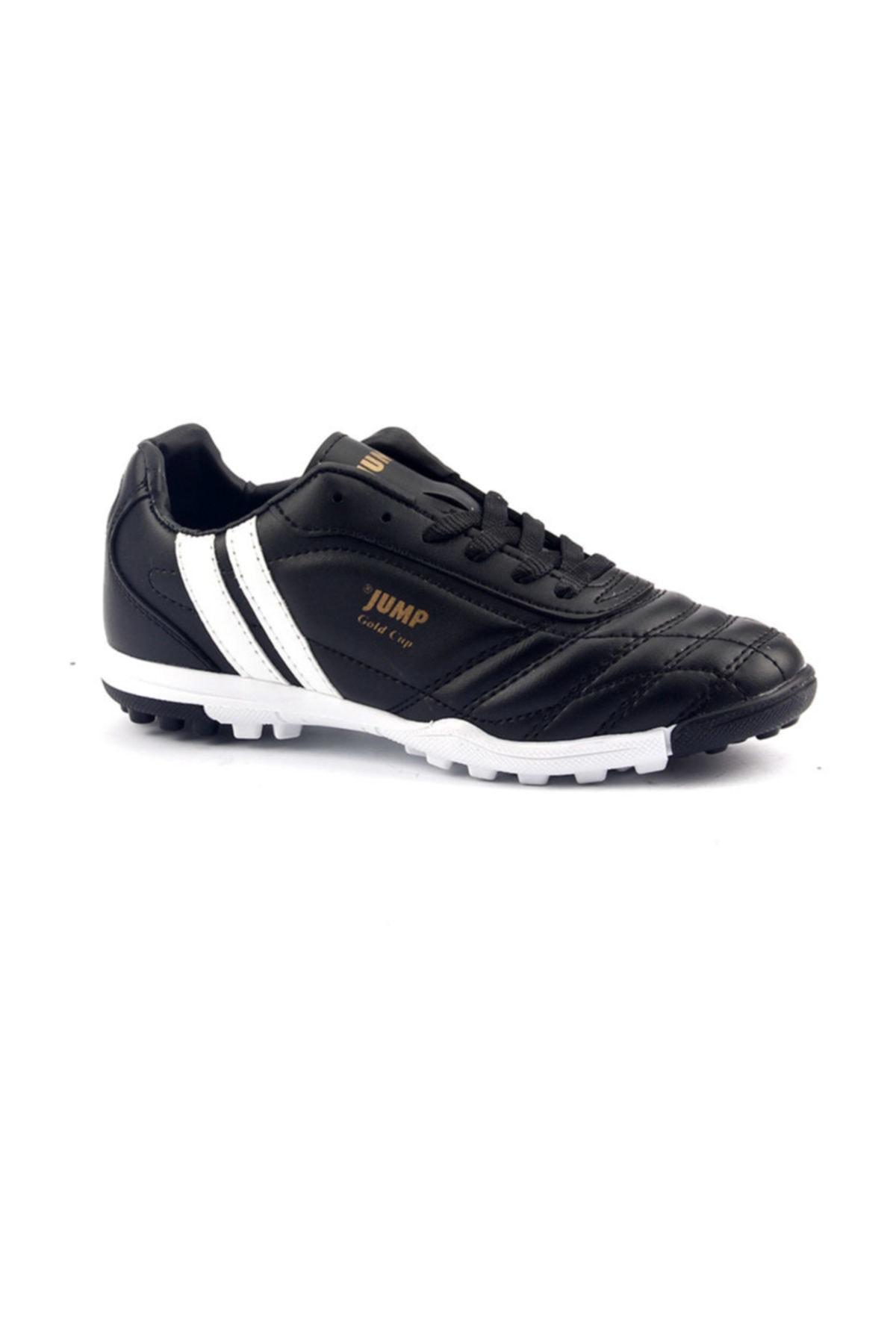Jump Siyah Halısaha Krampon Erkek Çocuk Futbol Ayakkabı 1
