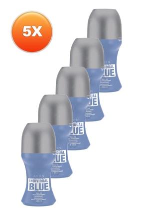 AVON Individual Blue Erkek Rollon 50 ml 5'li Set 5050000105477