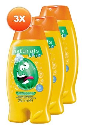 AVON Karpuz Kokulu Göz Yakmayan Şampuan ve Saç Kremi 250 ml 3'lü Set 5050000109109