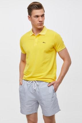 Ltb Erkek  Sarı Polo Yaka T-Shirt 012208454160890000