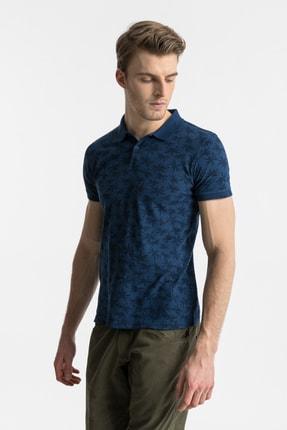 Ltb Erkek  Lacivert Polo Yaka T-Shirt 012208430760890000
