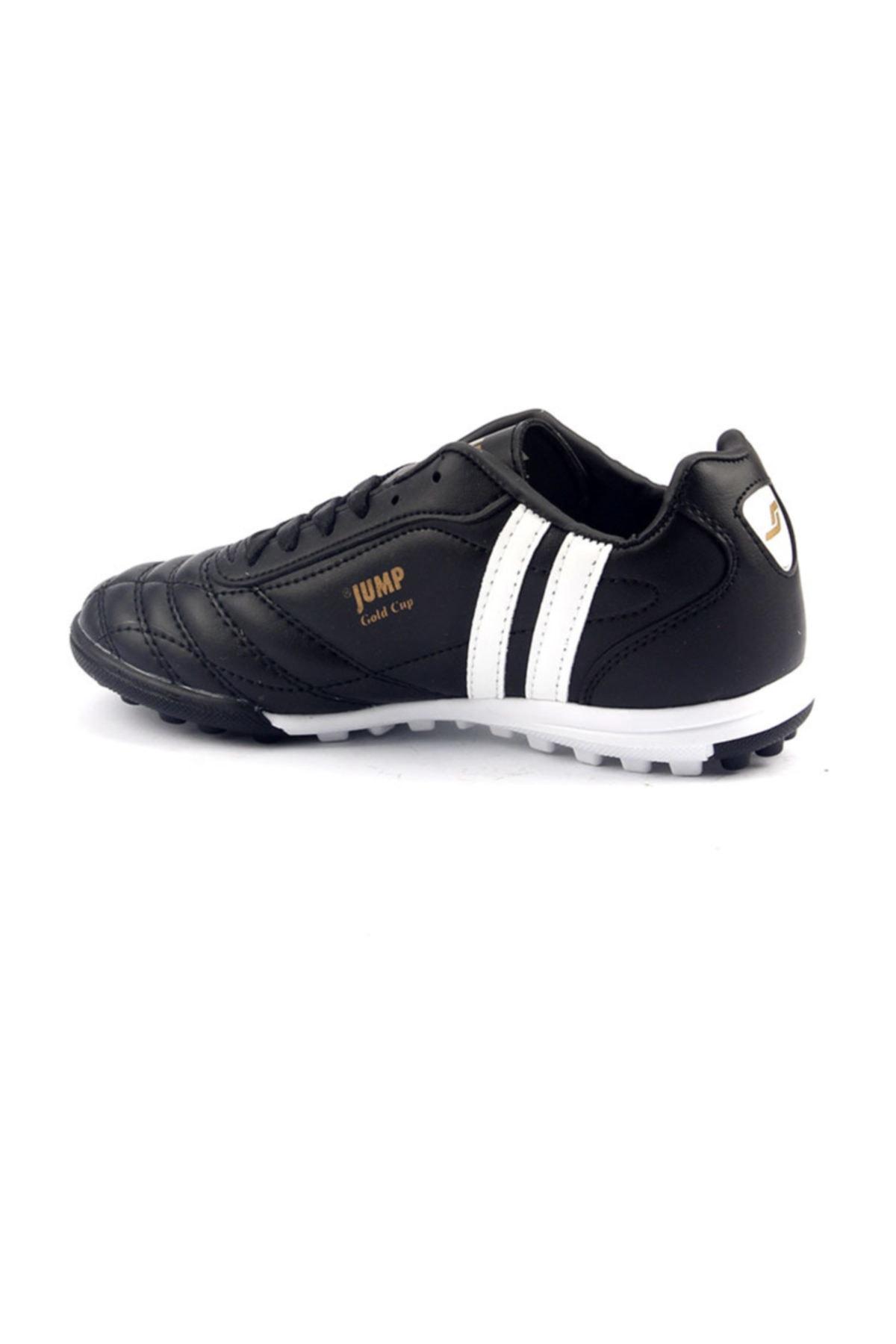 Jump Siyah Halısaha Krampon Erkek Çocuk Futbol Ayakkabı 2