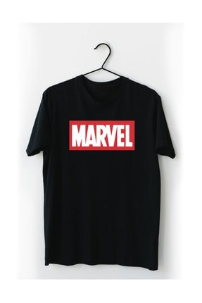 VectorWear Marvel Siyah Tişört