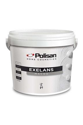Polisan Exelans Macro Silikonlu Dış Cephe Boya - 4840 Köpük Beyazı / Cd-8110