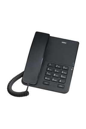 KAREL Tm140 Siyah Analog Masa Üstü Kablolu Telefon