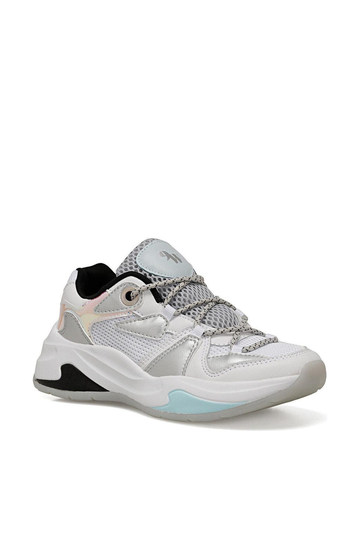 Nine West RANDOR BEYAZ GRI Kadın Kalın Taban Sneaker Spor Ayakkabı 100524815 2