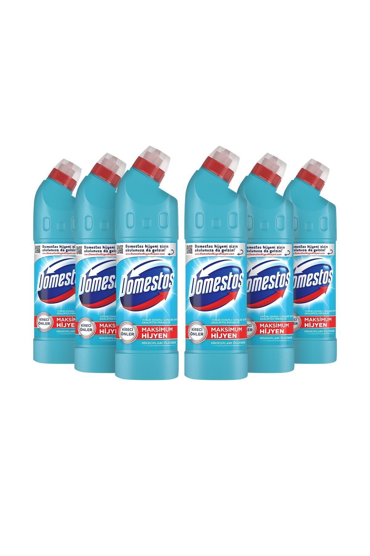 Domestos Domestos Çamaşır Suyu Okaliptüs 750 ml - 6'lı Paket