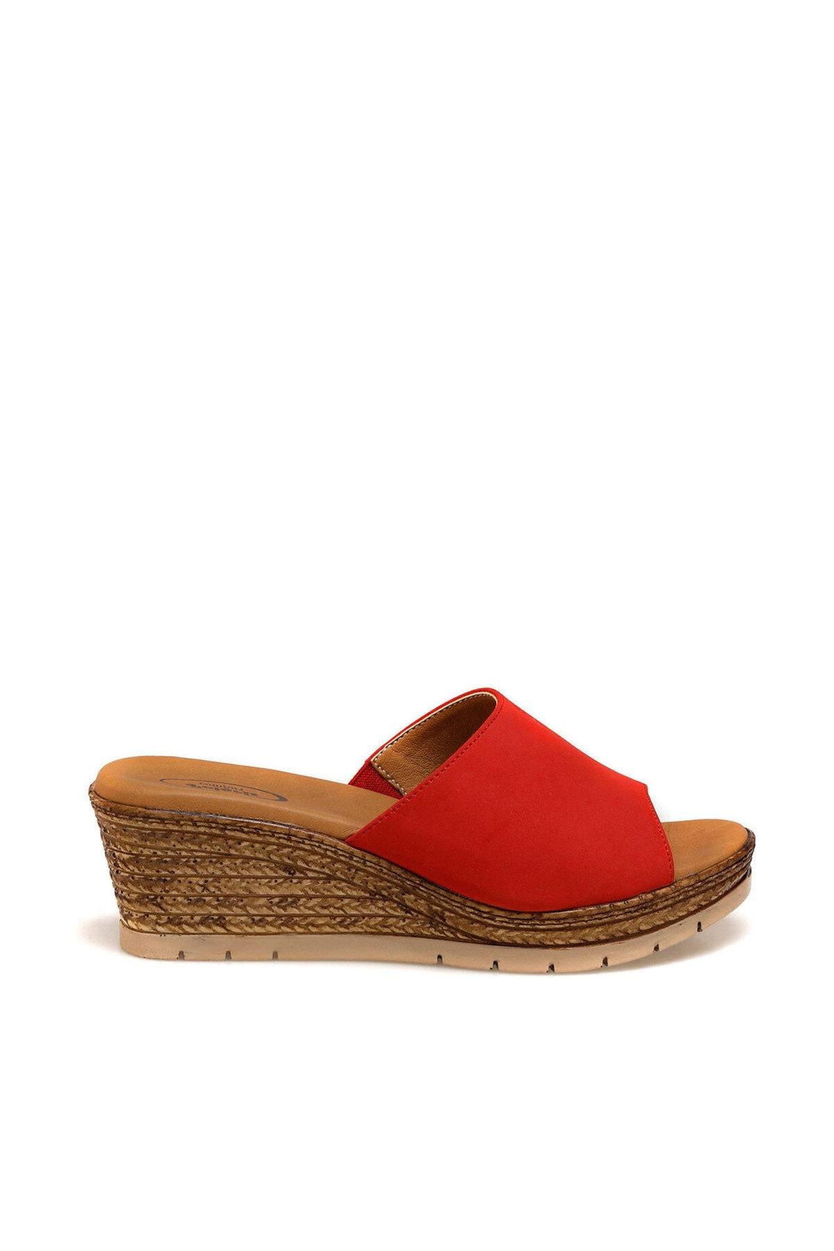 Polaris 161174.Z Kırmızı Kadın Sandalet 100509650 2