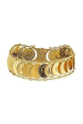 BİLEZİKHANE Ata Çeyrekli Kaykay Bileklik 57,62 gram 22 Ayar Altın