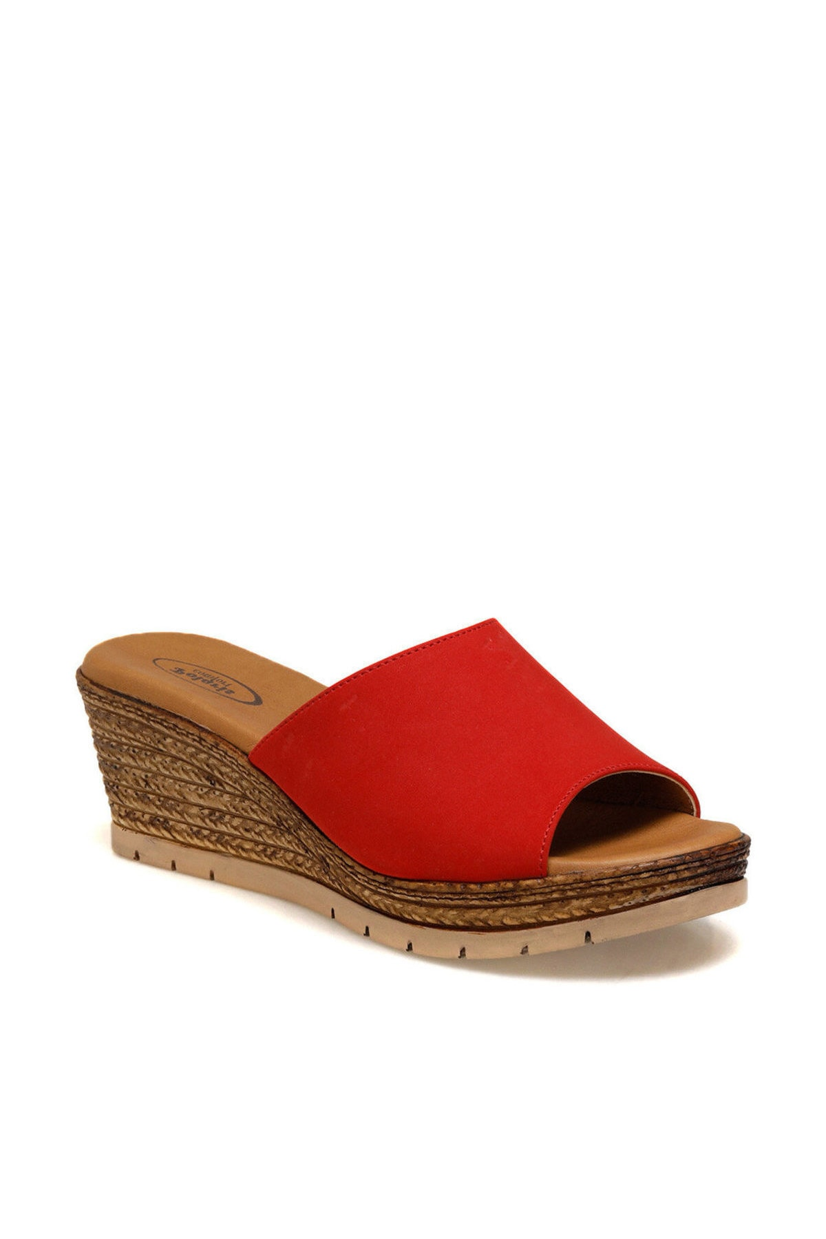 Polaris 161174.Z Kırmızı Kadın Sandalet 100509650 1