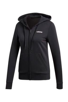 adidas Kadın Günlük Ceket Dp2414 Siyah W Essentials Linear Pullover Hoodie