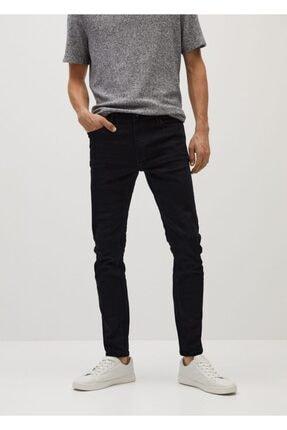MANGO Man Erkek Siyah Skinny Jude Jeans