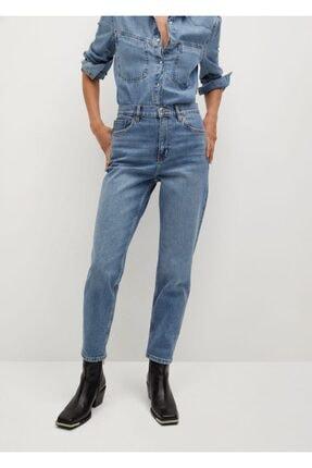 MANGO Woman Kadın Mavi Jean