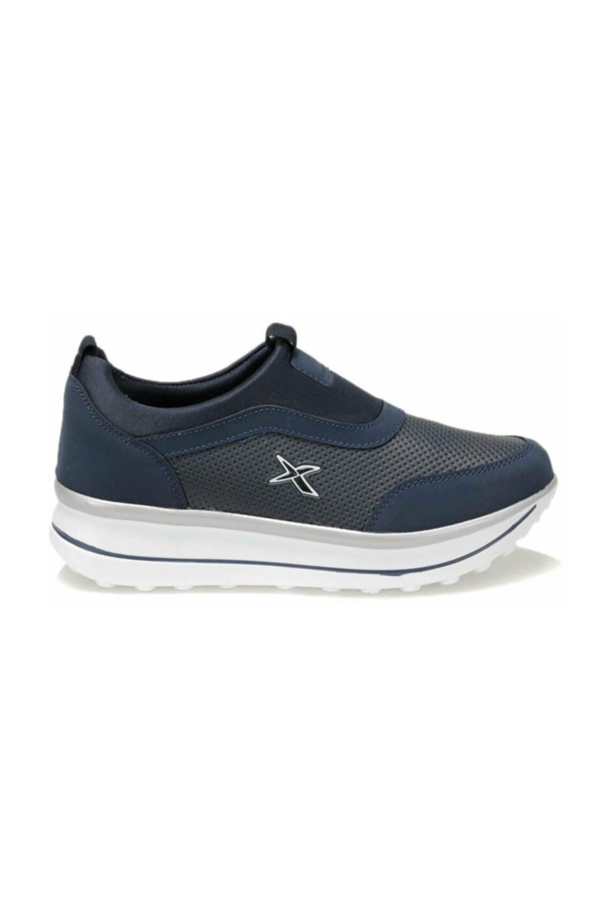 Kinetix Pauleta 100244052 Lacivert Kadın Slip On Ayakkabı 1