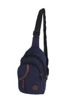 SEVENTEEN Seven Teen Bodybag Erkek Çantası Lacivert 3474