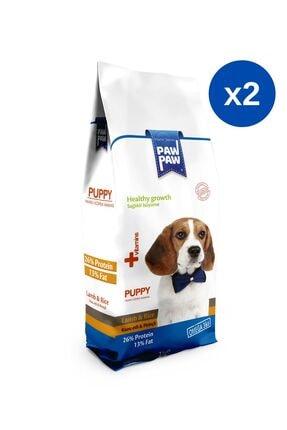 Paw Paw Kuzulu & Pirinçli Yavru Köpek Maması - 3 kg x 2 Adet