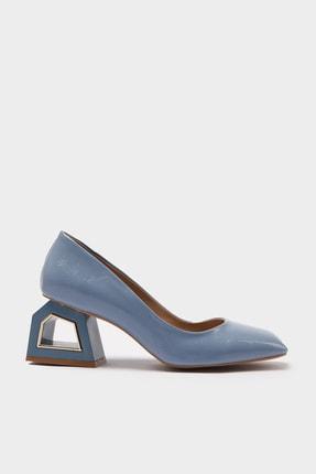 Hotiç Mavi Kadın Klasik Topuklu Ayakkabı 01AYH214740A620