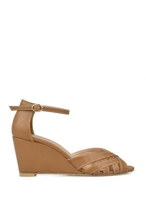 Ziya Punto by Ziya Kadın Topuklu Ayakkabı 101415 643295 VIZON