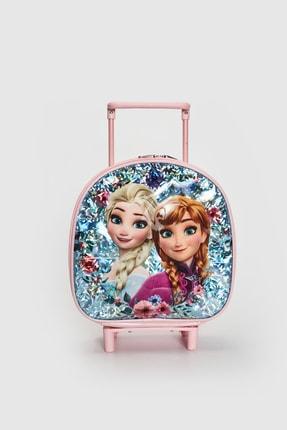 LC Waikiki Frozen Kız Çocuk Açık Mavi Cu5 Sırt Çantası