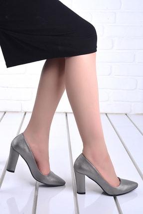 Ayakland Kadın Günlük 8 Cm Topuk Çupra Ayakkabı 137029-311