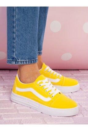 ayakkabıhavuzu Kadın Sarı Spor Ayakkabı