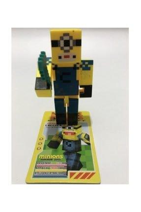 MRÇ Minecraft Micro Mınıons Me3 3'lü Figür Seti