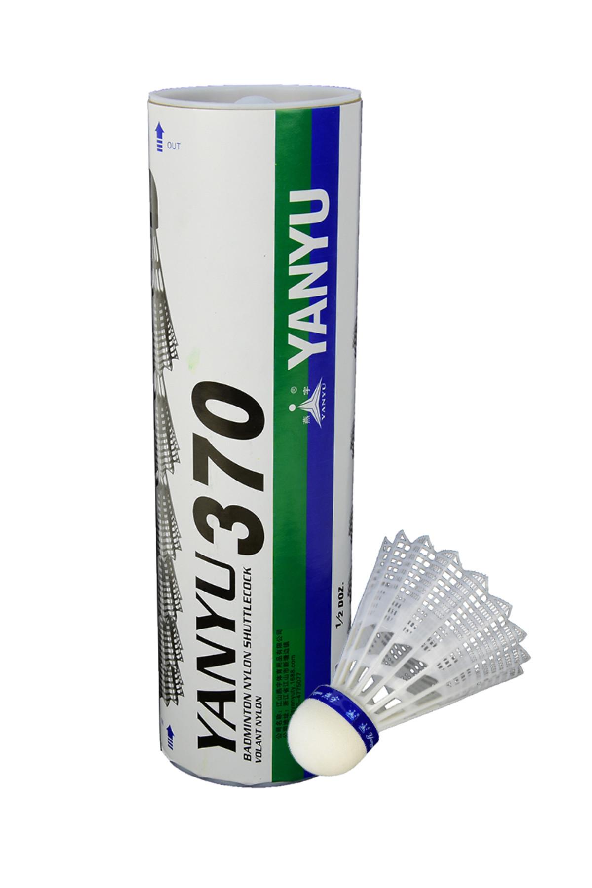 YANYU 6 lı Badminton Topu Beyaz - 370 1