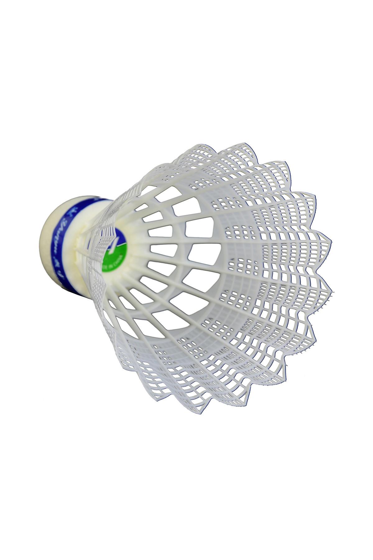 YANYU 6 lı Badminton Topu Beyaz - 370 2