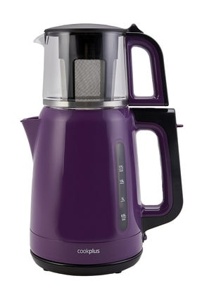 Cookplus Yeni 1501 Enerji Tasarruflu Kettle Çay Makinesi Violet