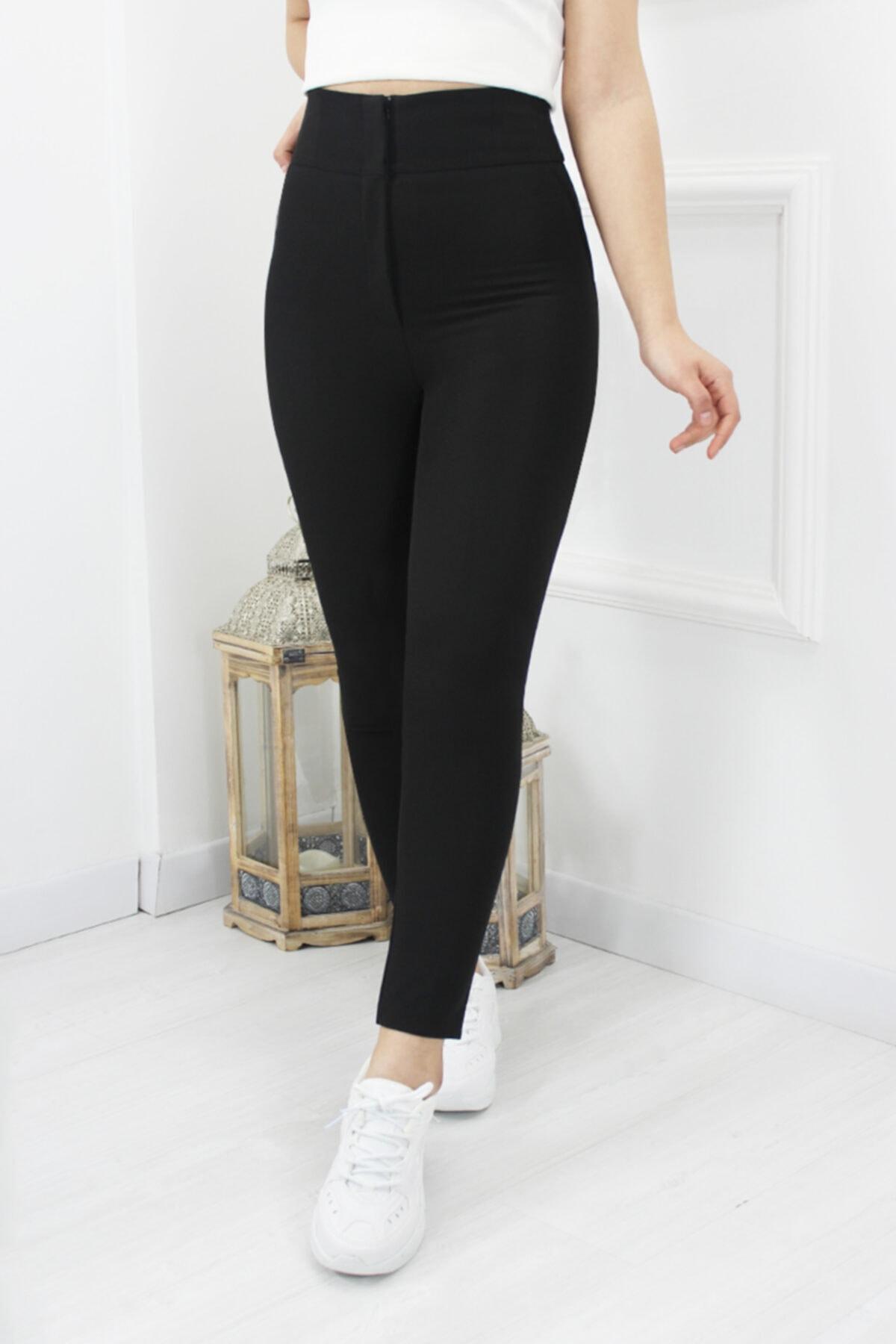 UGİMPOL Yüksek Bel Kumaş Pantolon 1