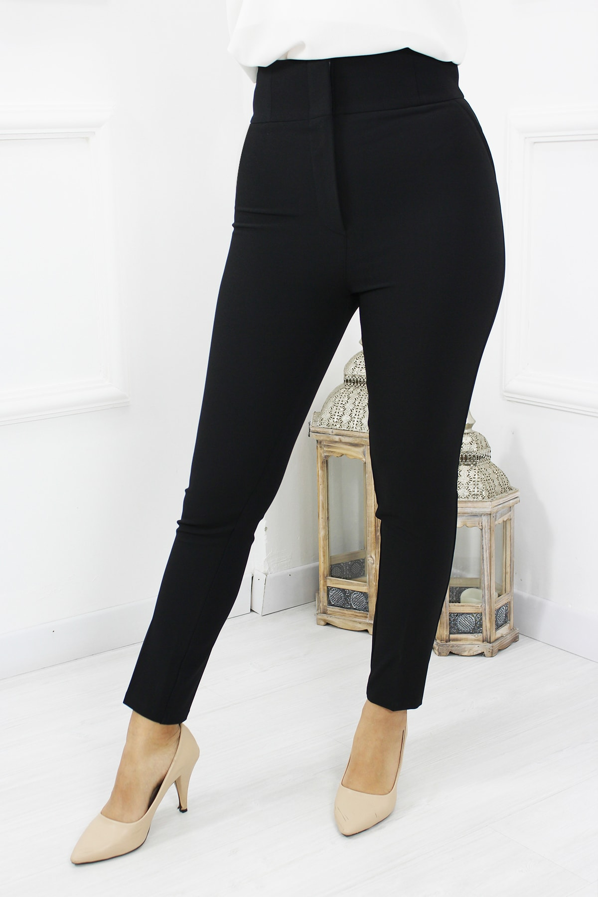 UGİMPOL Yüksek Bel Kumaş Pantolon 2