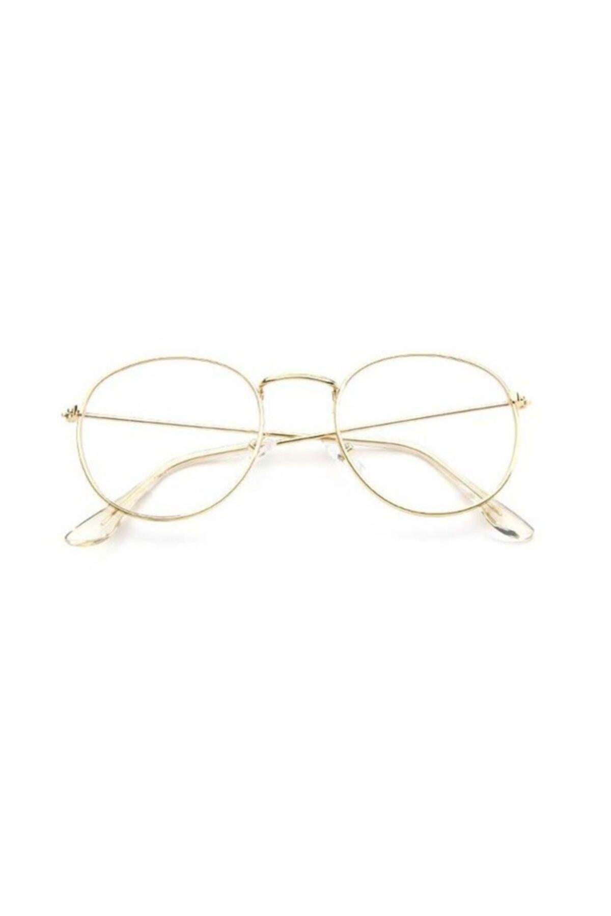 Müstesna Kadın Sarı Ekran Filtreli Oval Güneş Gözlüğü 1