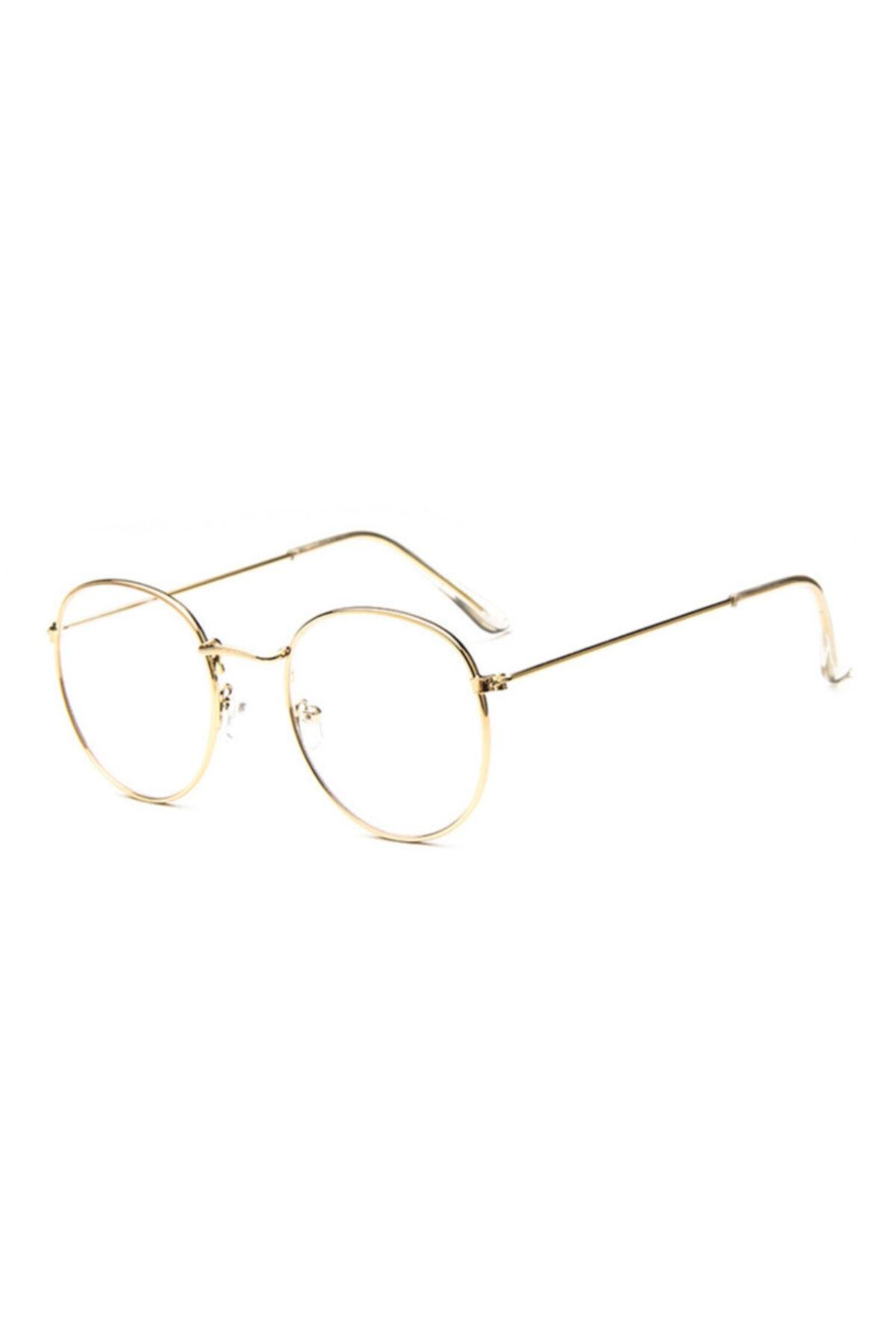 Müstesna Kadın Sarı Ekran Filtreli Oval Güneş Gözlüğü 2