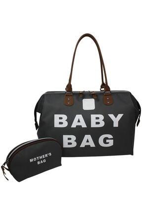 Stylo Baby Bag Anne Bebek Bakım Kadın Çantası-gri